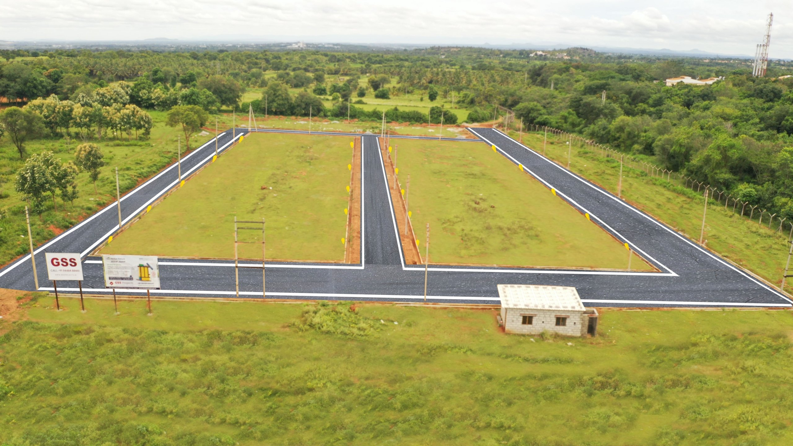 Herbal Nature By GSS Projects Mysore Aerial View