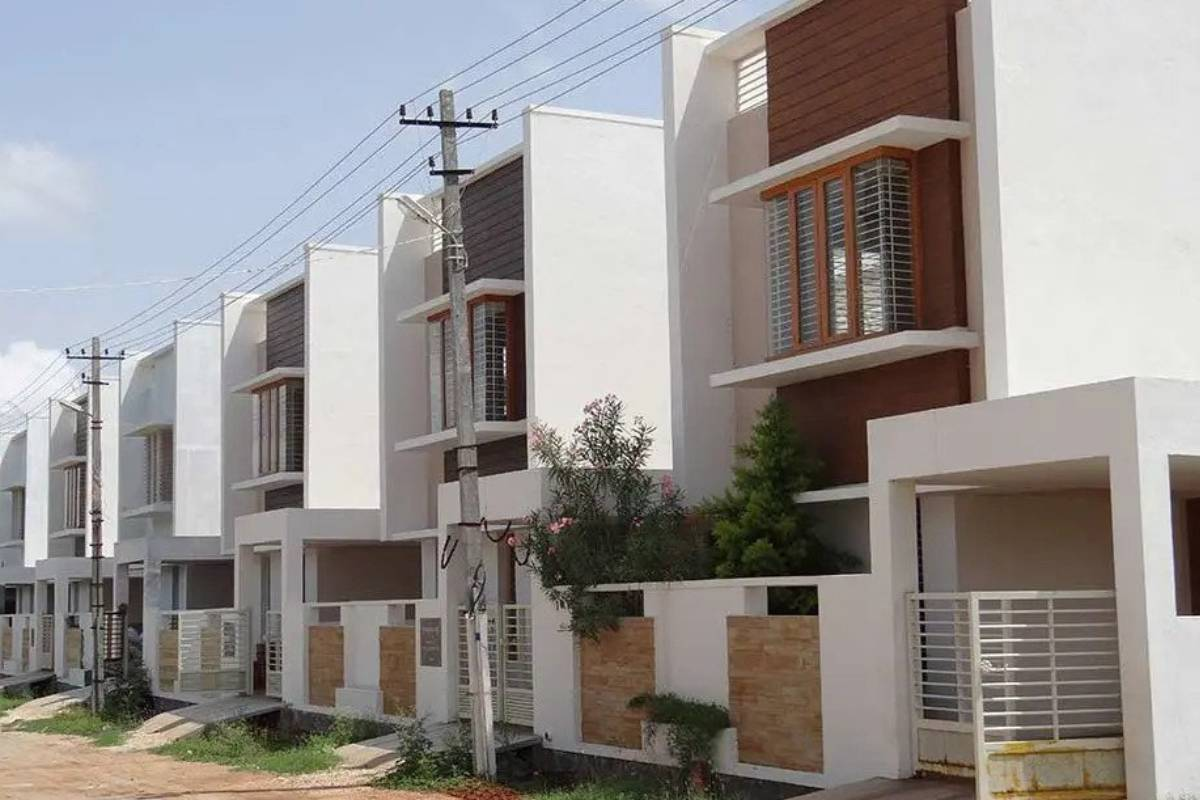 Chamundi Township Outer View- Project Initiated By GSS Projects Mysore