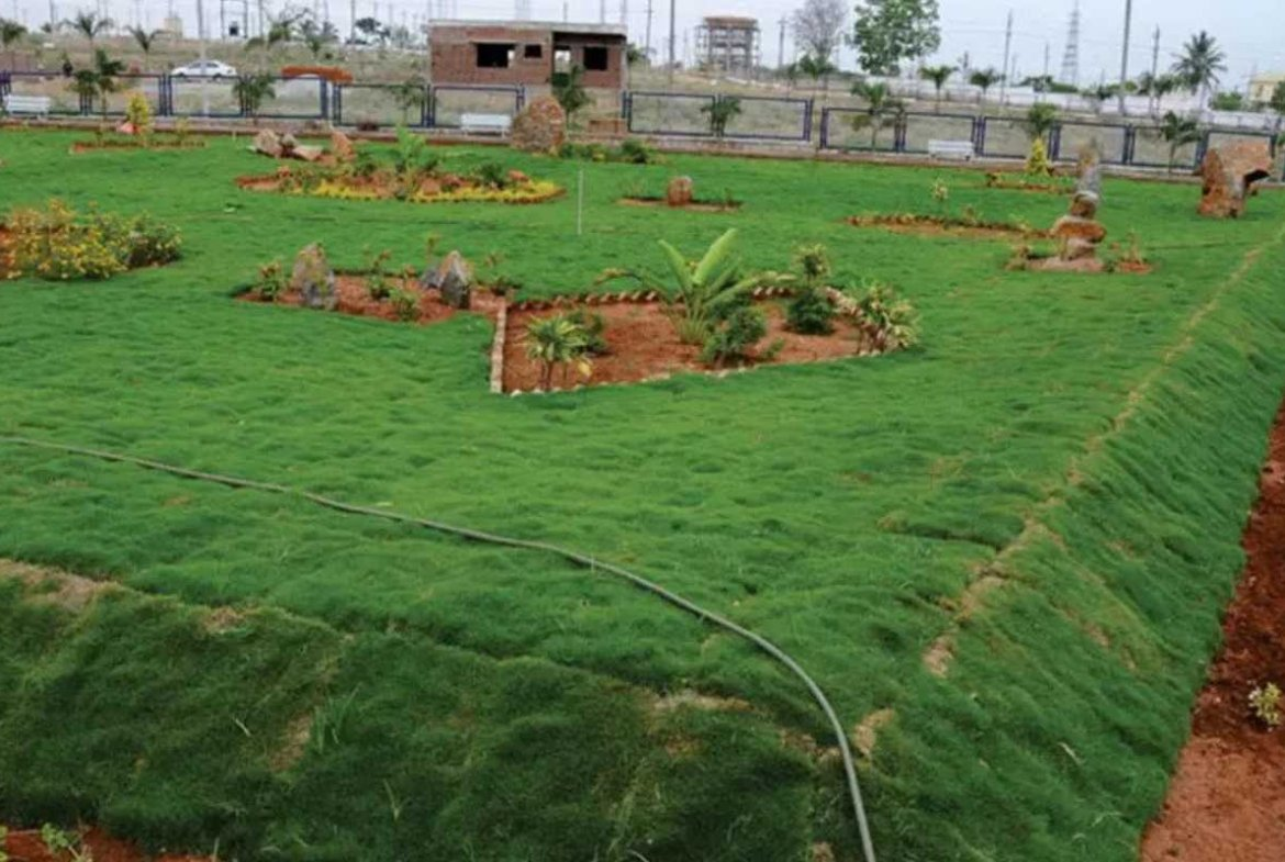 Chamundi Township Park - By GSS Projects Mysore