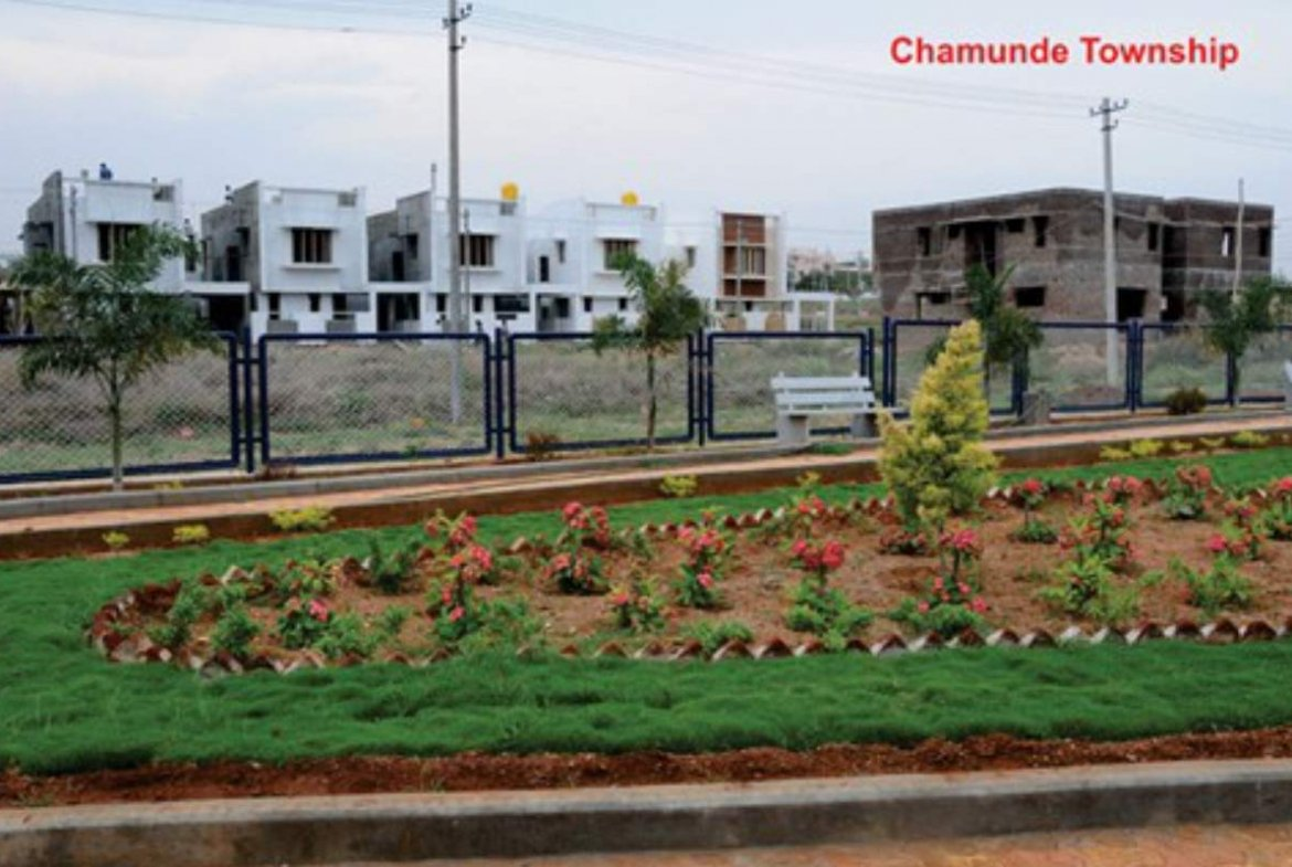 Chamundi Township Amenities - Park By GSS Projects
