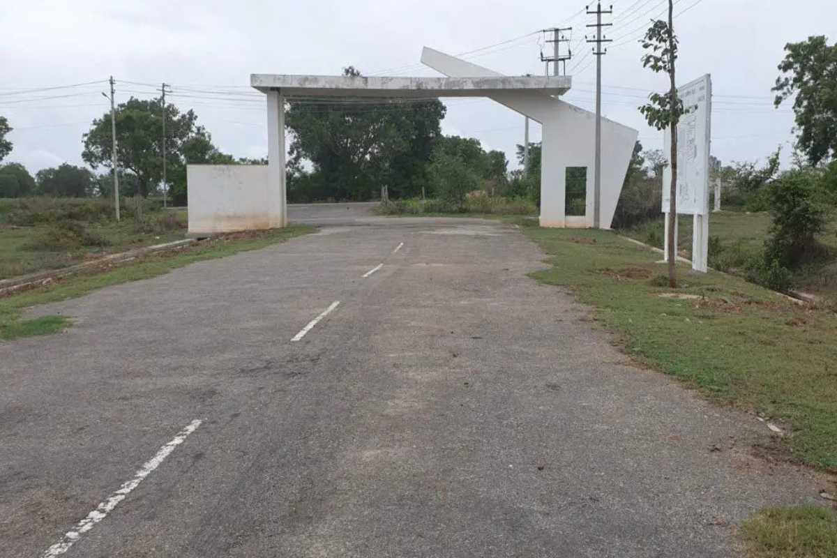 Nanjundeshwara Nagara Phase I and Phase II Entrance