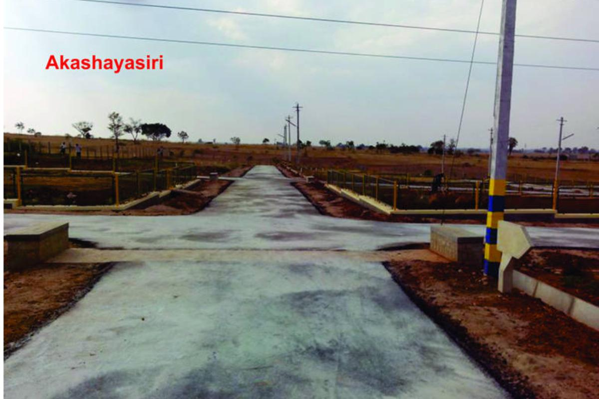 Akshaya Siri Amenities Provided The Asphalted Roads, Electricity Connectivity, Drainage Connection, Parks, - By GSS Projects