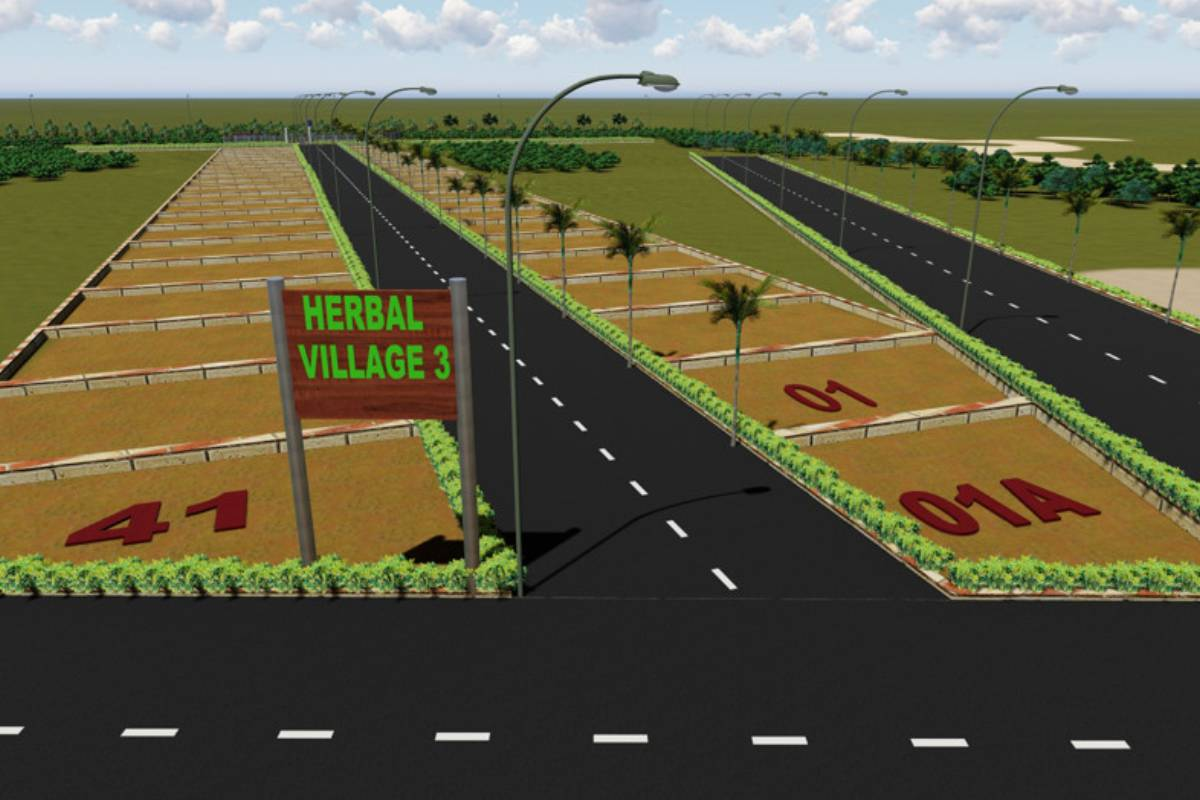 Herbal Village Phase 3, 3D View- By GSS Projects Mysore