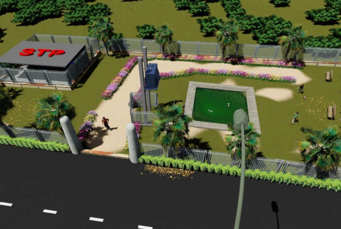 Herbal Village Phase 3 Amenities 3D View By GSS Projects