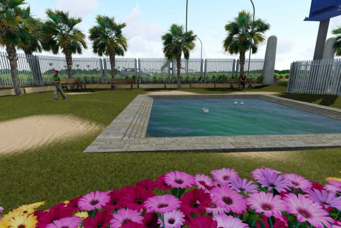 Herbal Village Phase 3 Amenities 3D View - An Real Estate Initiative By GSS Projects Mysore