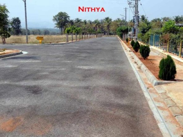 Nithya Sites In Mysore Amenities - The Asphalted Roads