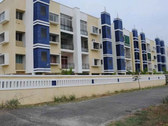 Abhyodaya Apartments Outside View - By GSS Projects Mysore