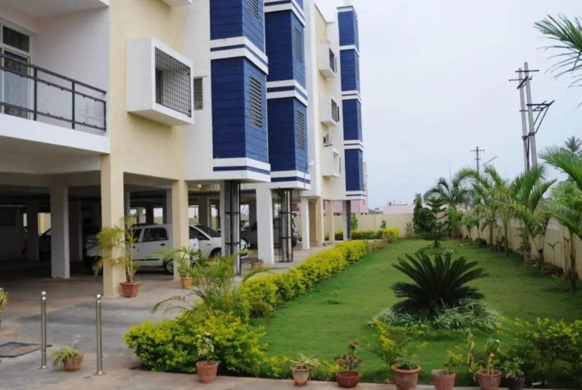 Abhyodaya Apartments Outside View- By GSS Projects