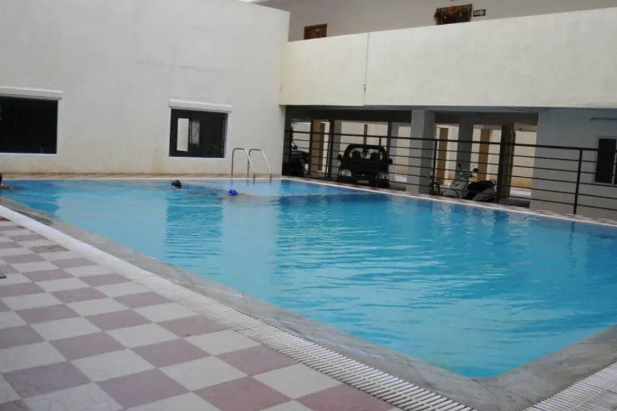 Abhyodaya Apartments Amenities Swimming Pool- By GSS Projects