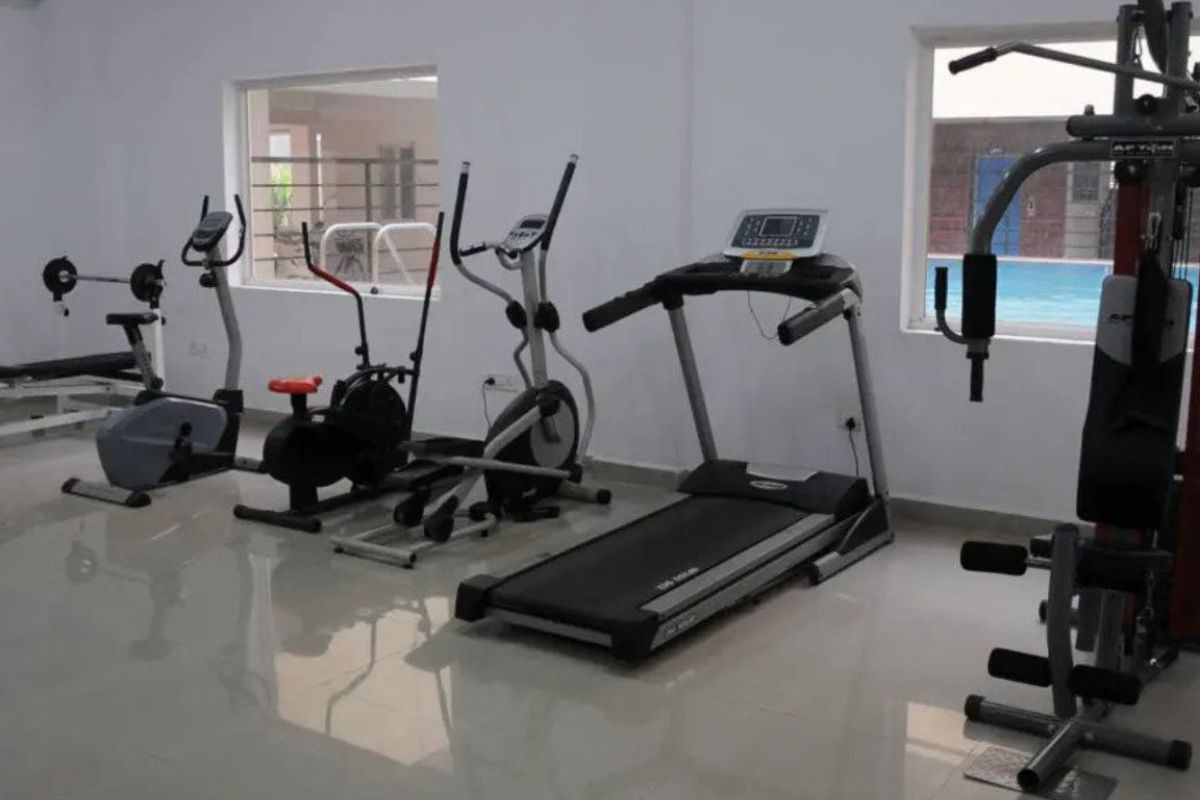 Abhyodaya Apartments Amenities GYM - By GSS Projects Mysore