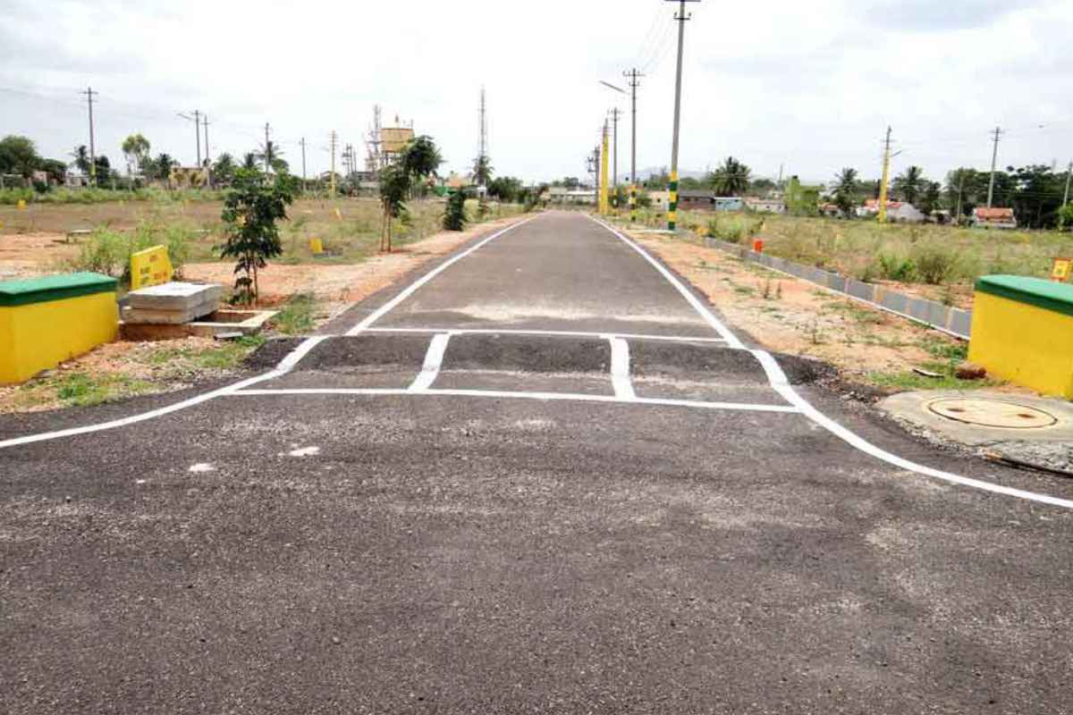 Herbal Habitat Amenities - The Asphalted Roads, Electricity Connectivity, Drainage Facility, Park - By GSS Projects