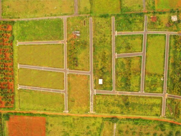 Amrita Coco Shelters Phase 2 Aerial View -Ongoing Projects in Mysore by GSS Projects